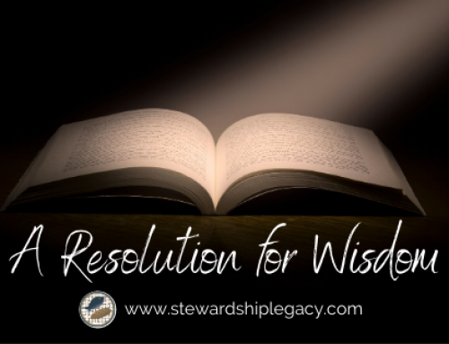 A Resolution for Wisdom