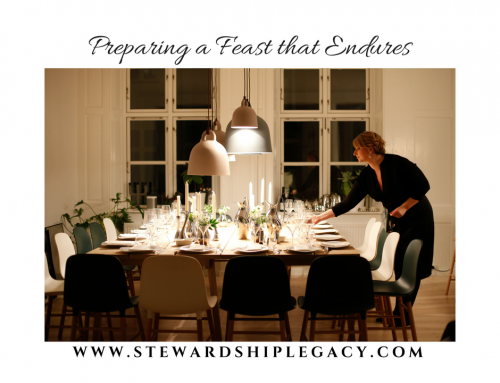 Preparing a Feast that Endures